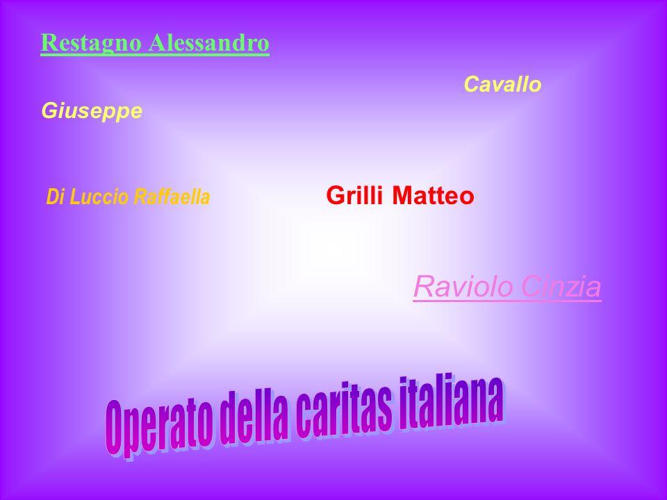 Riberi A. Meucci S. Canobbio M. Bellino A. Galaverna F. Rosso M.
