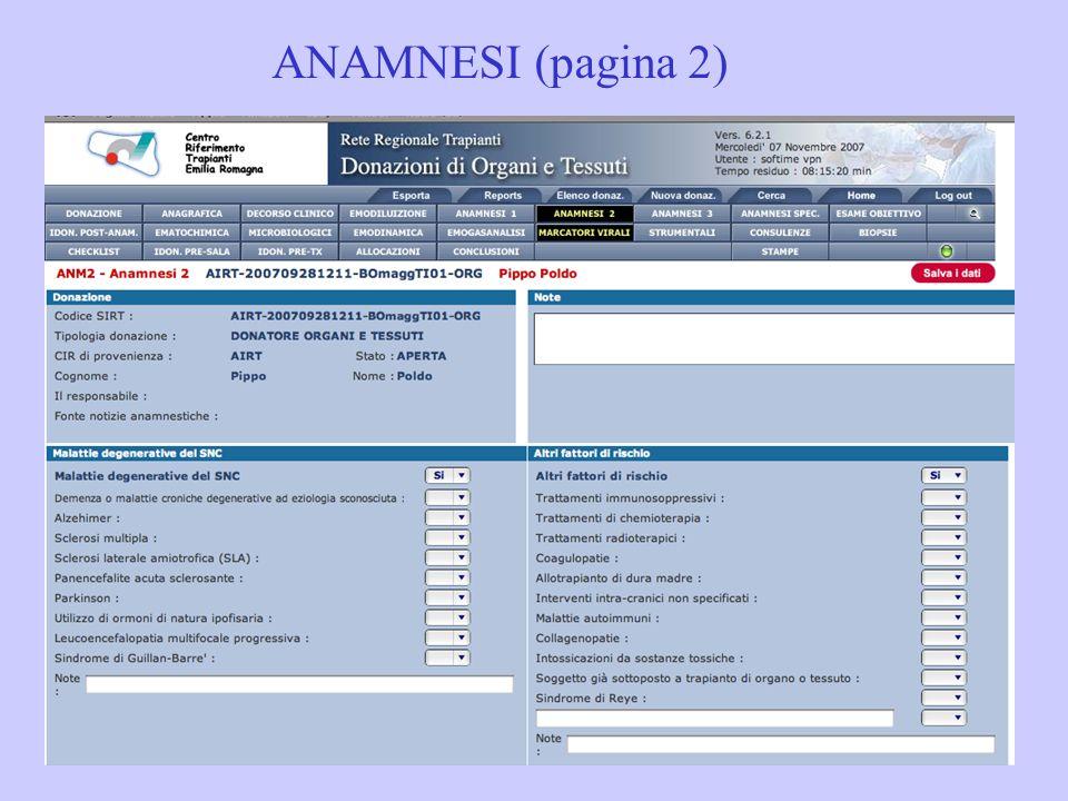 ANAMNESI (pagina 2)