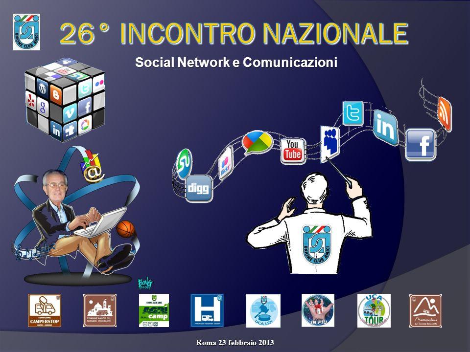 Social Network e Comunicazioni Roma 23 febbraio 2013