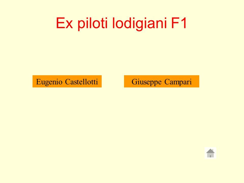 Ex piloti lodigiani F1 Eugenio CastellottiGiuseppe Campari