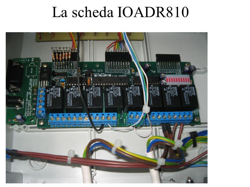 La scheda IOADR810
