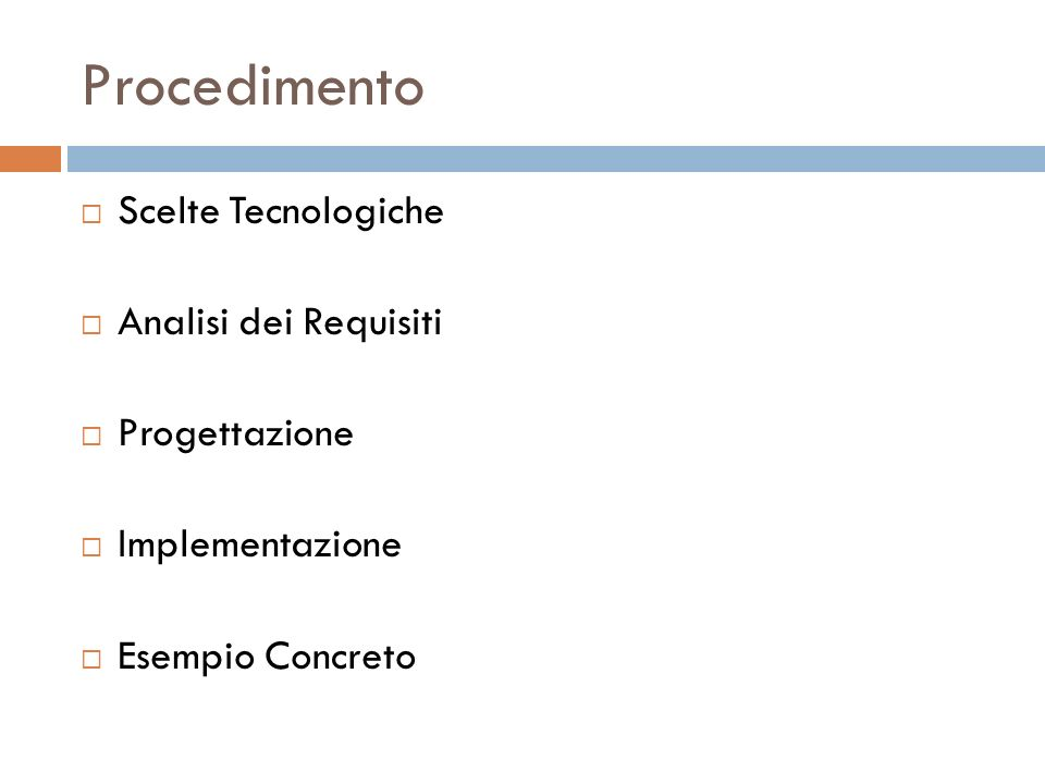 Scelte Tecnologiche Java Enterprise Edition Java Management eXtension Cosa sono gli Mbeans Application Server Jboss Il linguaggio XML Luca Ruggiero Milano