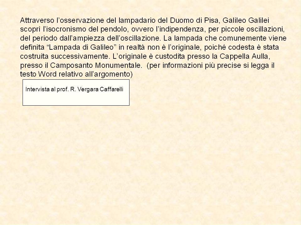 9 Intervista al prof. R. Vergara Caffarelli