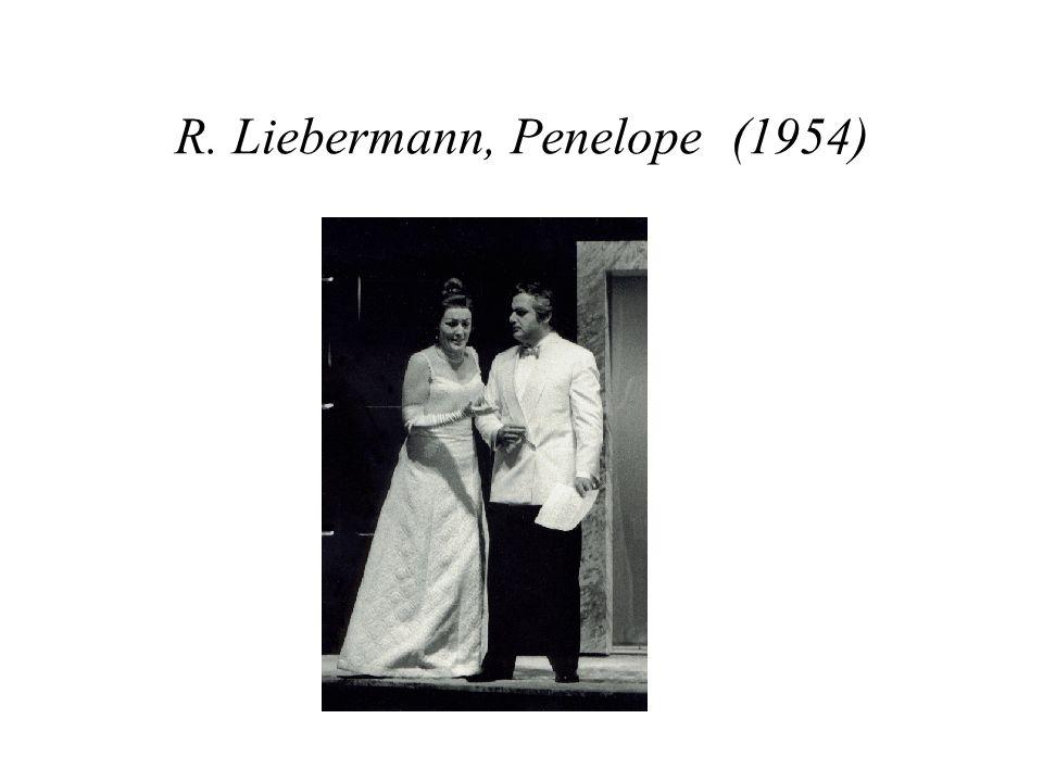 R. Liebermann, Penelope (1954)