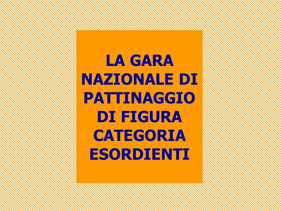 LA GARA NAZIONALE DI PATTINAGGIO DI FIGURA CATEGORIA ESORDIENTI