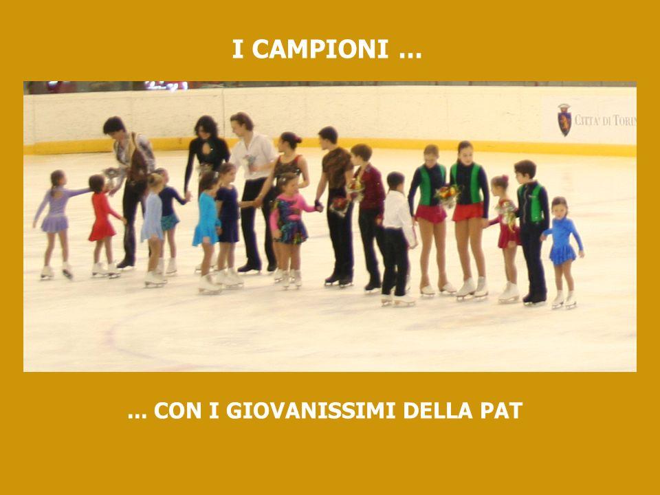 I CAMPIONI...... CON I GIOVANISSIMI DELLA PAT