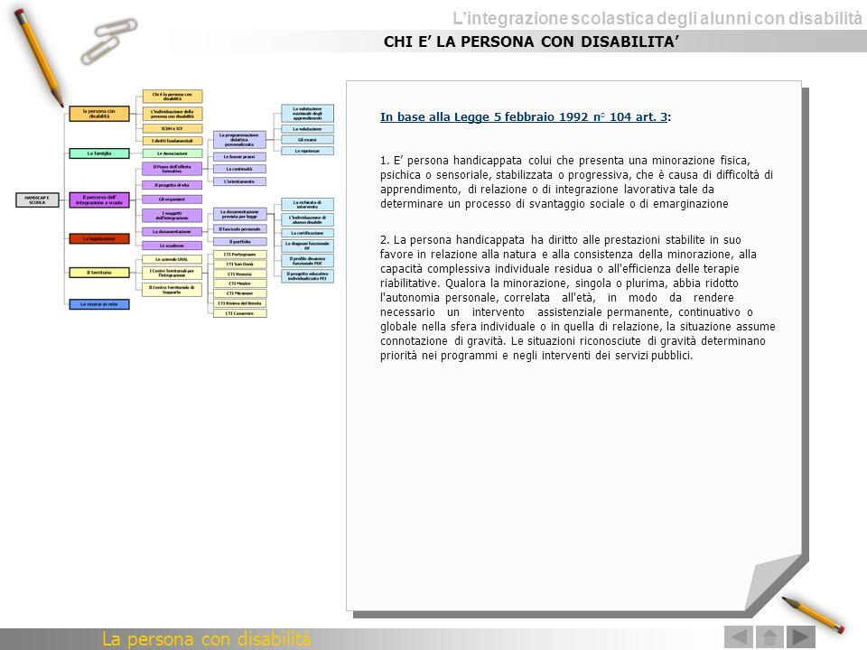 Lintegrazione scolastica degli alunni con disabilità CTI Riviera del Brenta Scuola Capofila Istituto Comprensivo (St.) A.