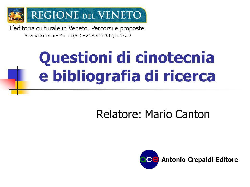 La bibliografia di ricerca La reperibilità virtuale CatalogoIndirizzo Internet A.b.a.a.
