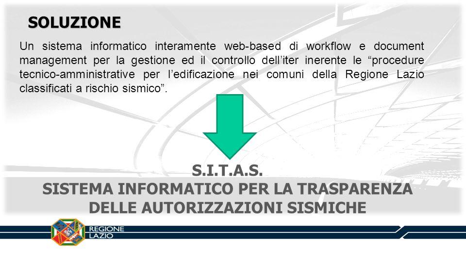 Un sistema informatico interamente web-based di workflow e document management per la gestione ed il controllo delliter inerente le procedure tecnico-