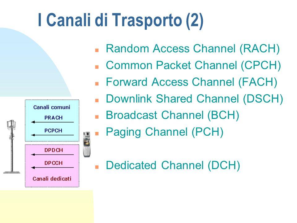 I Canali di Trasporto I canali di trasporto possono essere suddivisi in n Comuni (gli UE devono essere identificati) n Dedicati (ogni canale fisico identifica un UE)