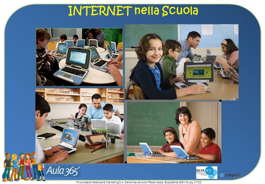 Propiedad Intelectual E-Marketing S.A. Derechos de Autor Reservados. Expediente 305116 Ley 11723 INTERNET nella Scuola
