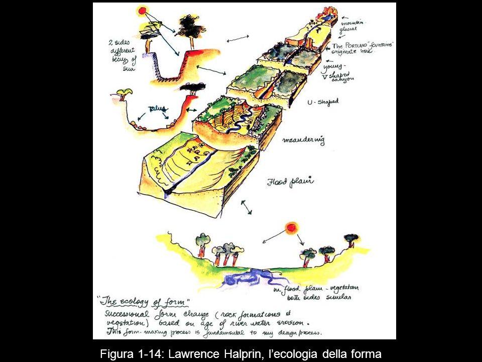 Figura 1 14: Lawrence Halprin, lecologia della forma