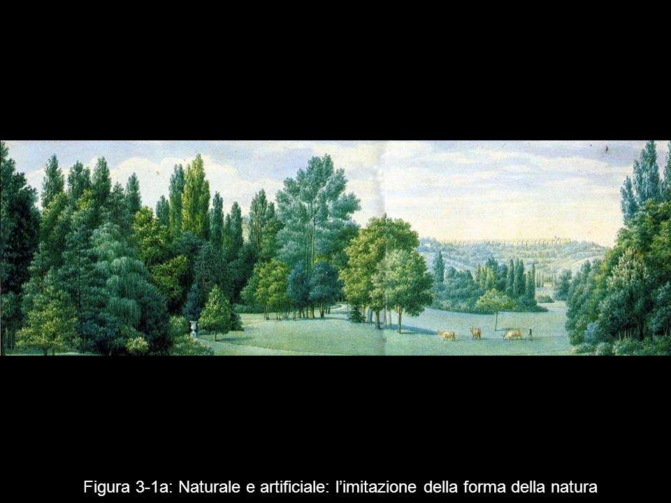 Figura 3 1a: Naturale e artificiale: limitazione della forma della natura