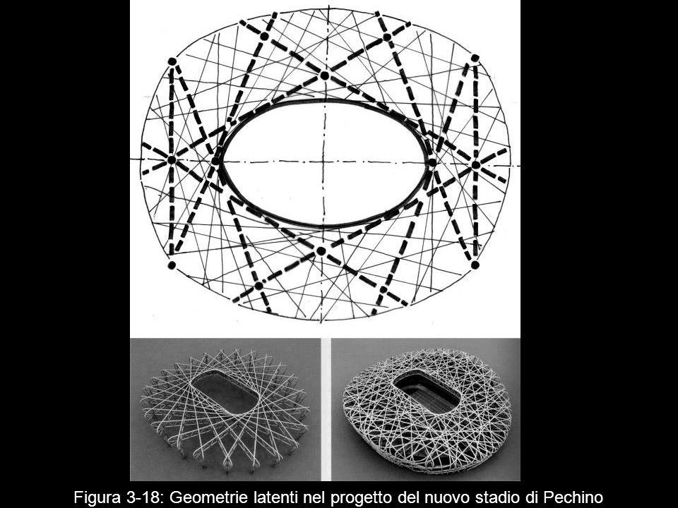 Figura 3 18: Geometrie latenti nel progetto del nuovo stadio di Pechino
