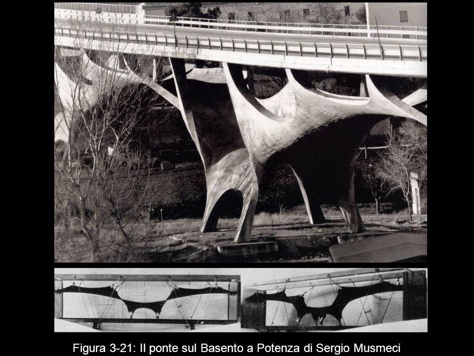 Figura 3 21: Il ponte sul Basento a Potenza di Sergio Musmeci