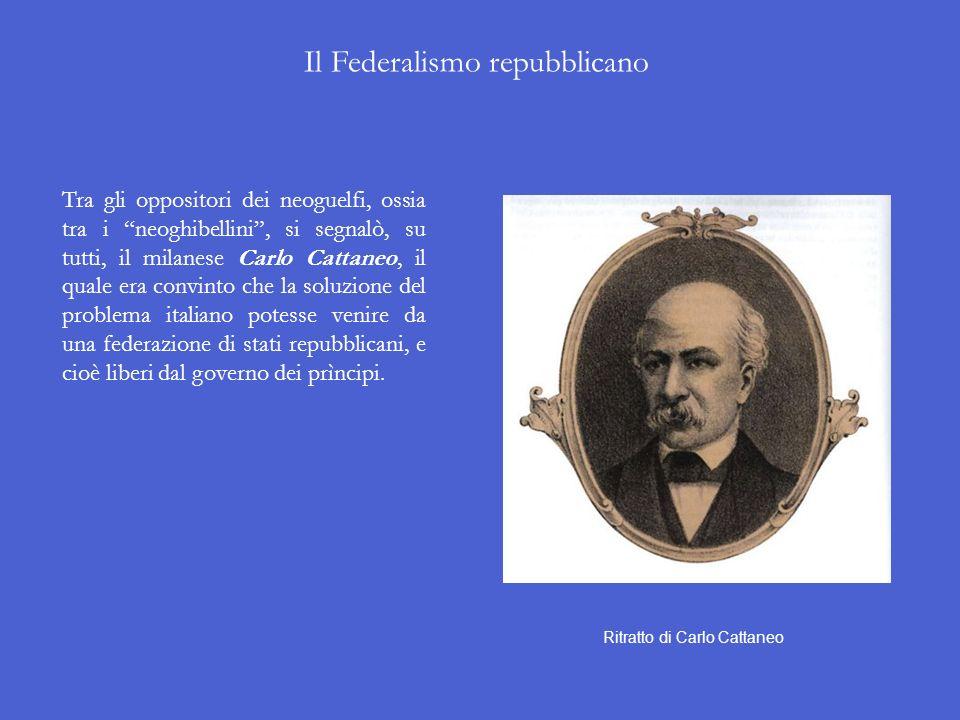 Il Neoguelfismo Alla corrente politica di Mazzini venne opponendosi quella democratico-moderata che puntava non sulla rivoluzione ma sulle riforme. Il