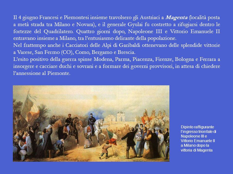 La seconda guerra dindipendenza italiana Per realizzare il suo piano, Cavour doveva fare in modo che fosse lAustria ad attaccare: solo così infatti, s