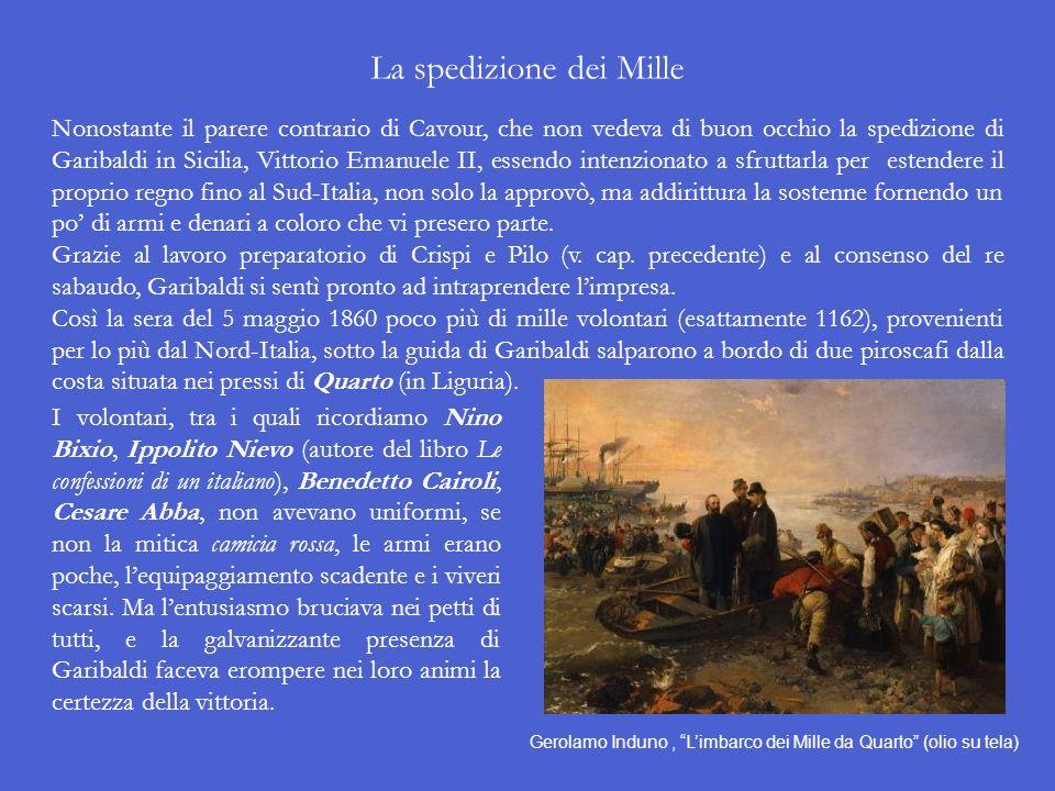 La preparazione dellinsurrezione in Sicilia Per quanto riguarda la Sicilia, la sua situazione si presentava la più favorevole al tentativo di innescar