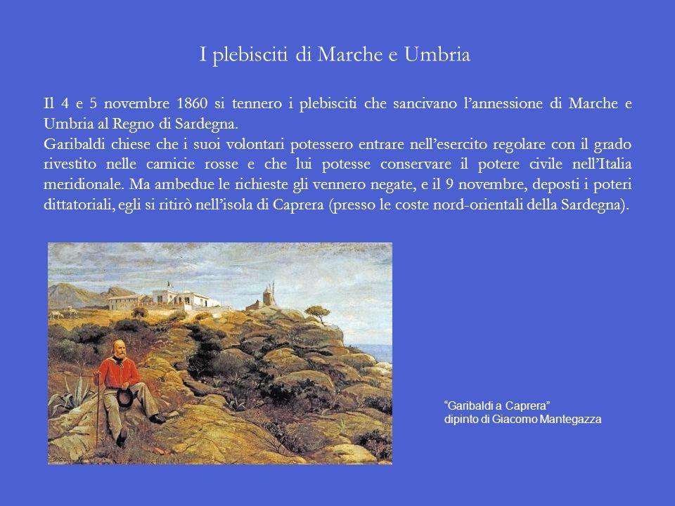 Lincontro di Taverna Catena Il 26 ottobre 1860 a Taverna Catena, vicino a Teano (CE), Garibaldi si incontrò con Vittorio Emanuele II che cavalcava all