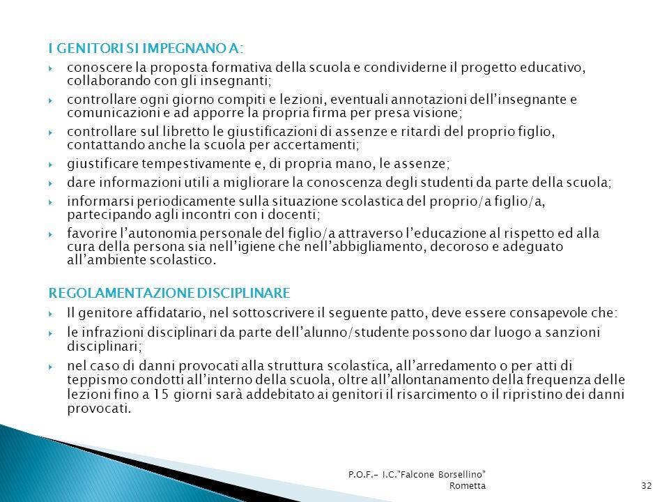 Assicurazione Documento di valutazione dei rischi Piano di evacuazione Vigilanza Addetti DLgs 81/2008 P.O.F.- I.C. Falcone Borsellino Rometta33