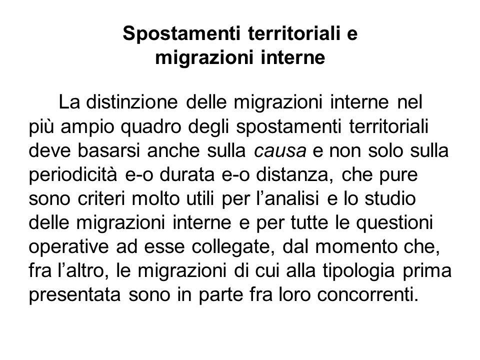 La mobilità in Italia *Dati 2008 provvisori Fonte: ISTAT Iscritti, tassi per 1000 abitanti, per trasferimento di residenza intraregionale e interregionale.