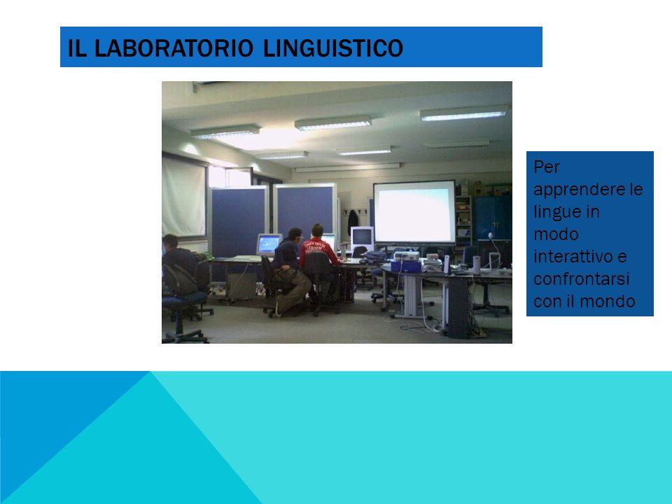 IL LABORATORIO LINGUISTICO Per apprendere le lingue in modo interattivo e confrontarsi con il mondo