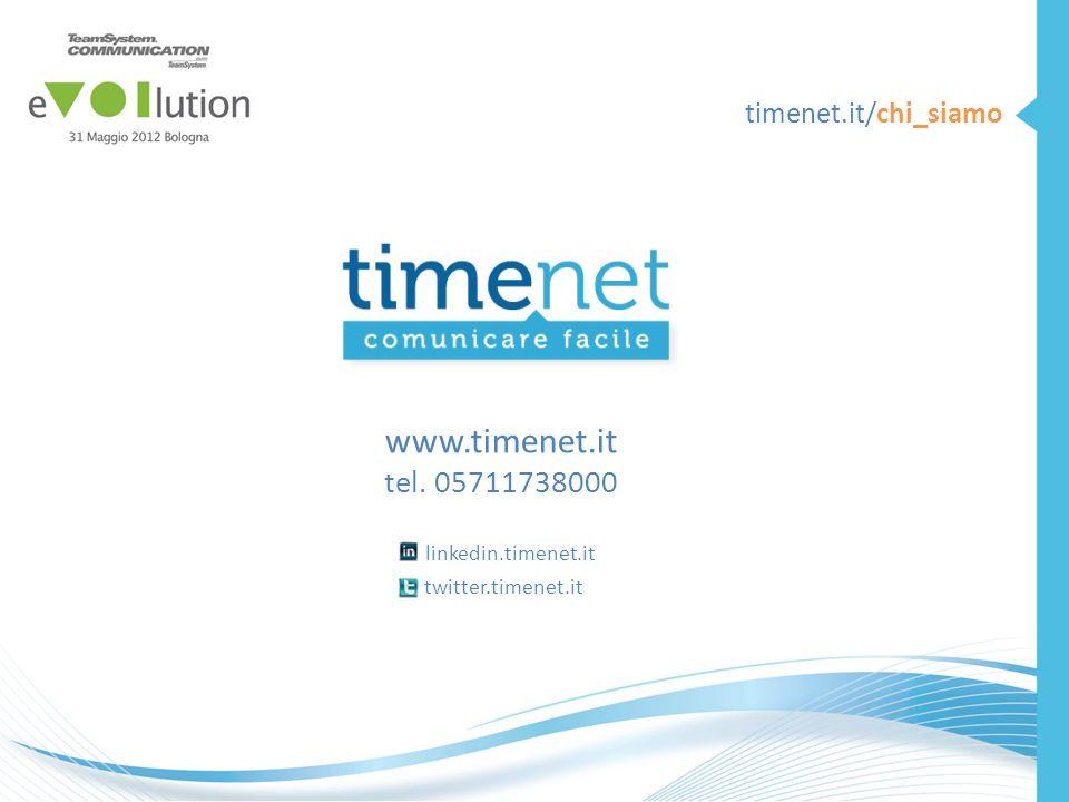 www.timenet.it tel. 05711738000 linkedin.timenet.it twitter.timenet.it timenet.it/chi_siamo