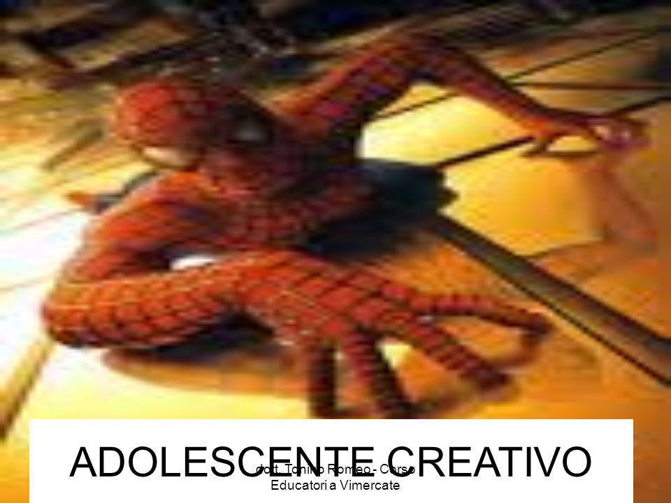 ADOLESCENTE CREATIVO dott. Tonino Romeo - Corso Educatori a Vimercate