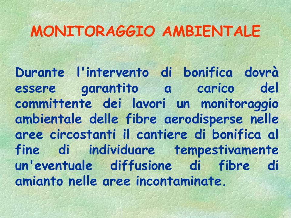 Unità di decontaminazione a) Locale di equipaggiamento b) Locale doccia. c) Chiusa d'aria. d) Locale incontaminato (spogliatoio )
