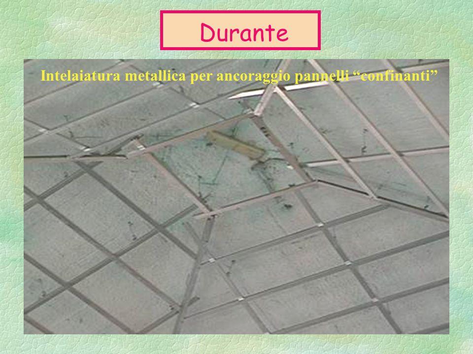 Soffitto - Prima Materiale contenente amianto (pannelli soffitto)