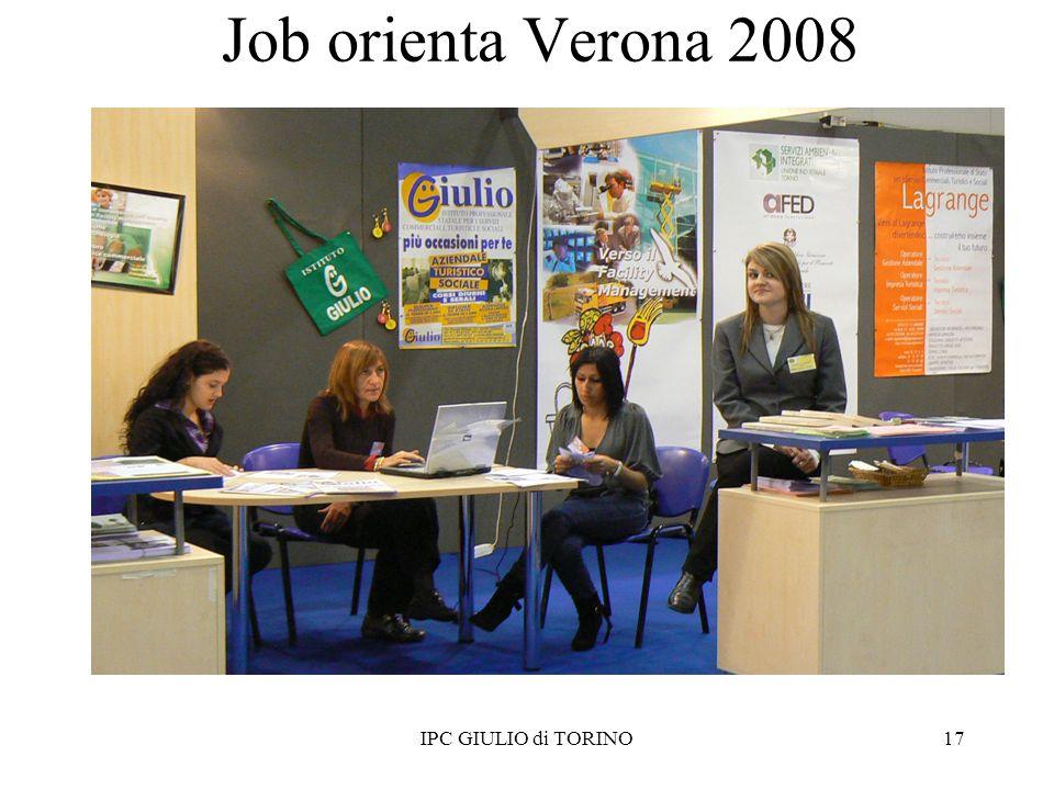 Job orienta Verona 2008 17IPC GIULIO di TORINO