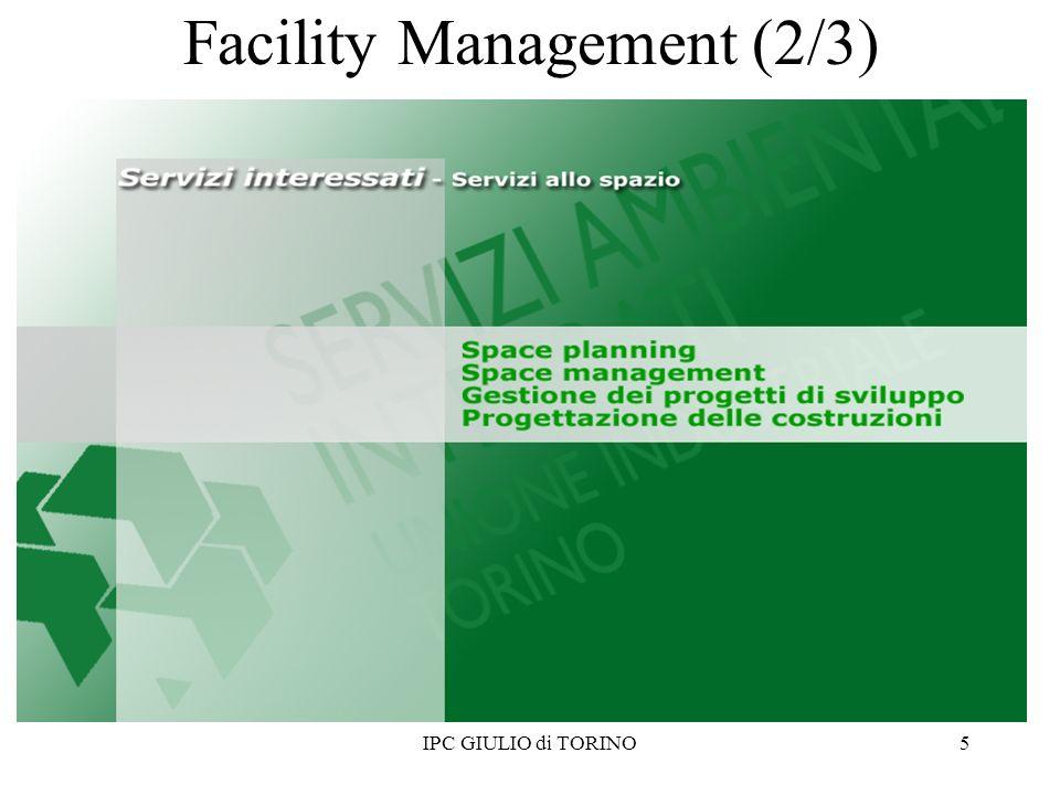IPC GIULIO di TORINO6 Facility Management (3/3)