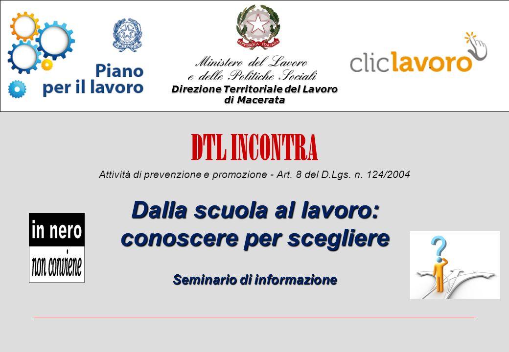 DTL INCONTRA Attività di prevenzione e promozione - Art.