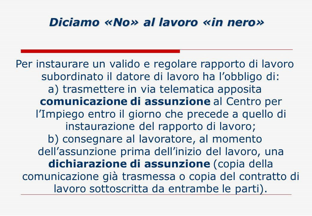 Linee guida Sulla base dei criteri previsti dalla Riforma Fornero (Legge n.