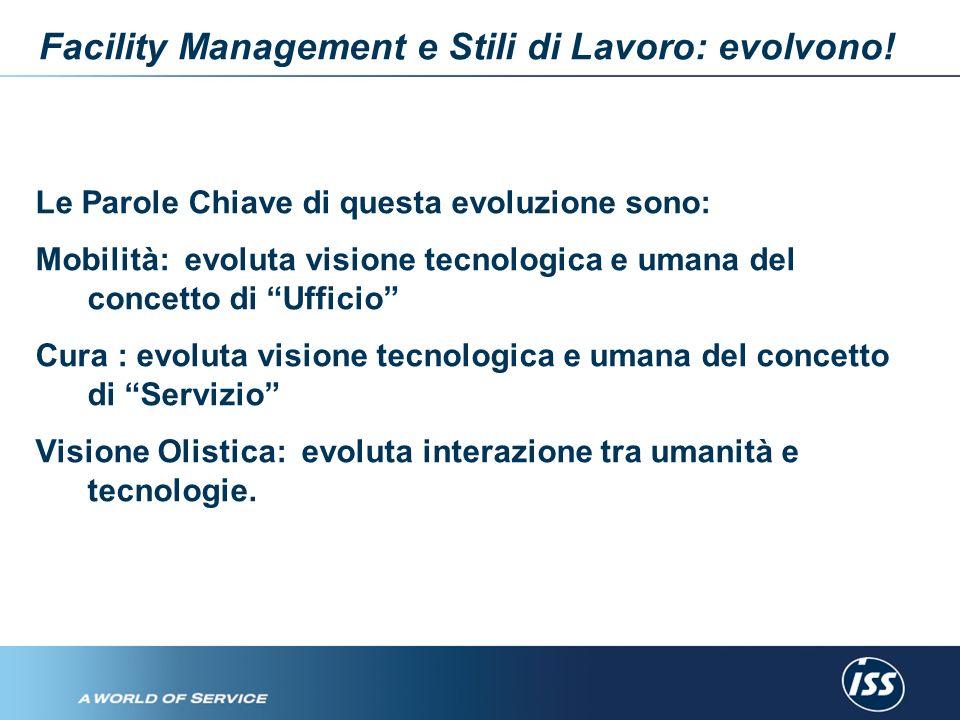 Facility Management e Stili di Lavoro: evolvono.