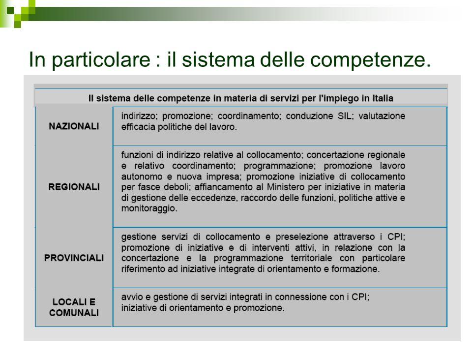 7.1 Aziende e Centri per limpiego in Veneto.Le comunicazioni nel 2005.
