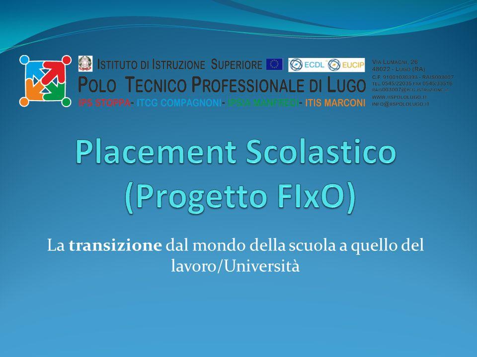 La transizione dal mondo della scuola a quello del lavoro/Università