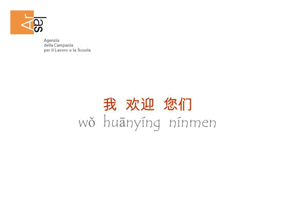 w ǒ hu ā nyíng nínmen Agenzia della Campania per il Lavoro e la Scuola