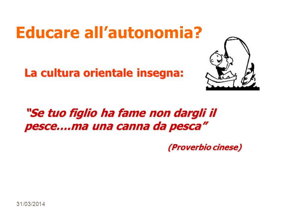 31/03/2014 Educare allautonomia.