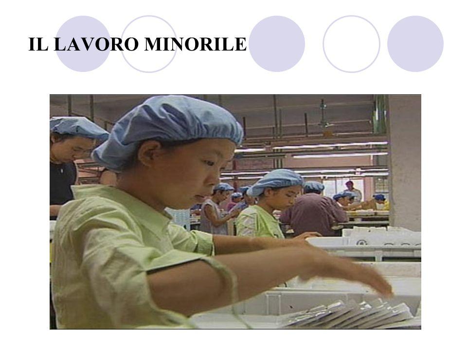 BAMBINI AL LAVORO Nel mondo ci sono almeno 250 milioni di bambini tra i 5 e i 14 anni che lavorano.