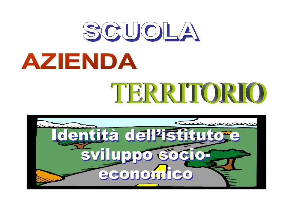 Identità dellistituto e sviluppo socio- economico