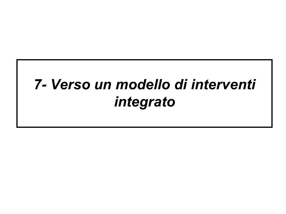 7- Verso un modello di interventi integrato
