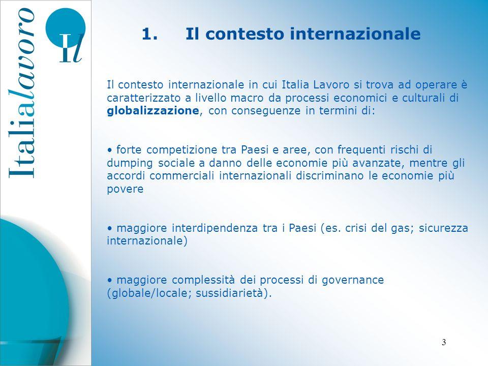 4 3.Il ruolo di Italia Lavoro Italia Lavoro è una società per azioni, totalmente partecipata dal Ministero dell Economia e delle Finanze.