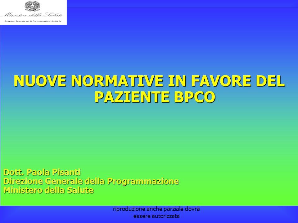 la pubblicazione è a cura della Dott. Paola Pisanti. L'eventuale riproduzione anche parziale dovrà essere autorizzata NUOVE NORMATIVE IN FAVORE DEL PA