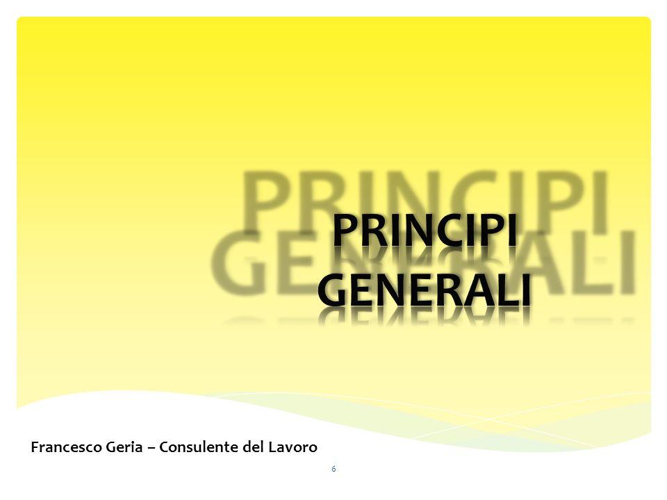Francesco Geria – Consulente del Lavoro 6