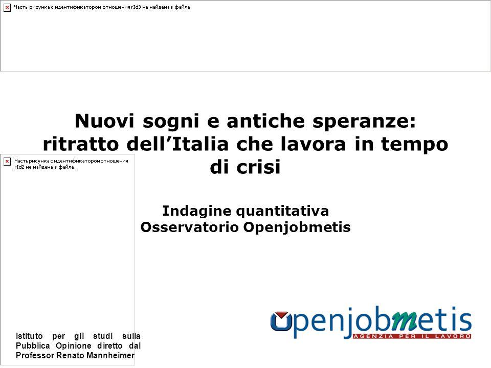 42 Per ulteriori informazioni: Openjobmetis SpA Ufficio Comunicazione Via Marsala 40/C 21013 Gallarate VA 0331/211501 comunicazione@openjob.it