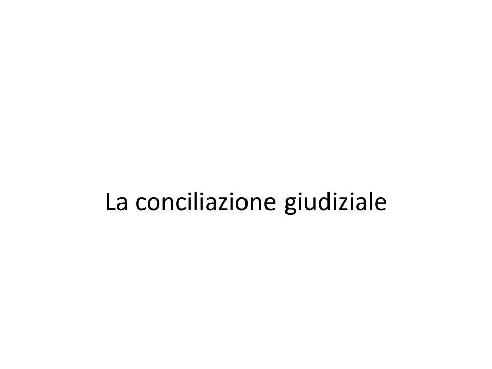 La conciliazione convenzionale obbligatoria legalizzata Lart.