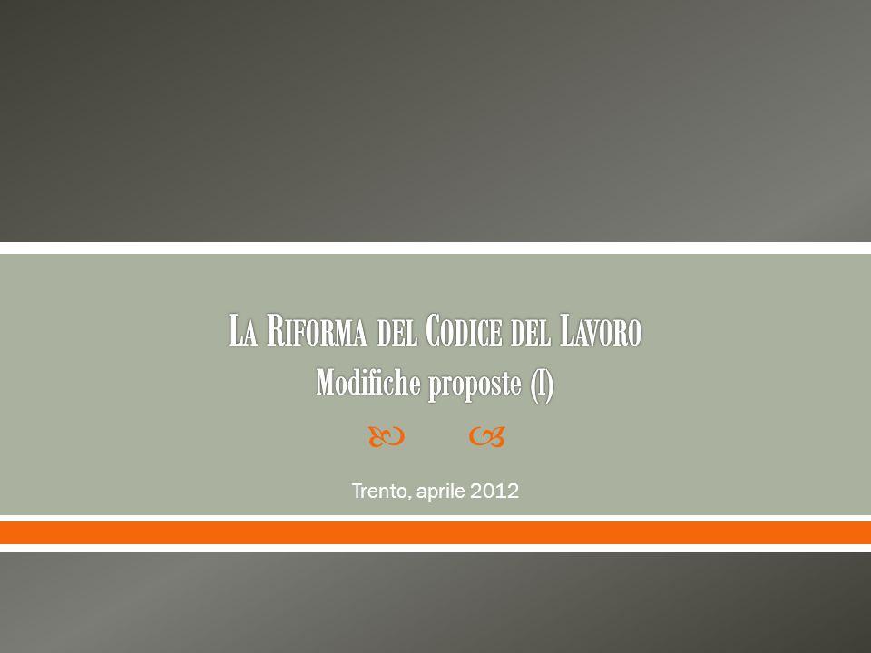 Trento, aprile 2012
