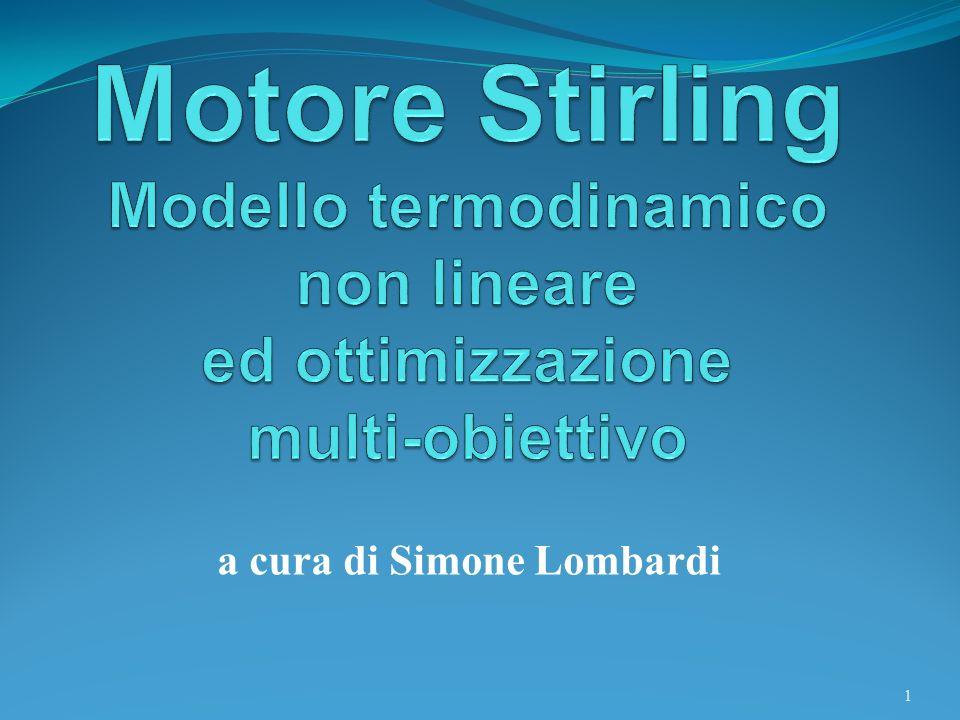 Motore Stirling Nel 1816 Stirling inventò un motore ad aria calda dotato di un economizzatore, o più comunemente chiamato rigeneratore.