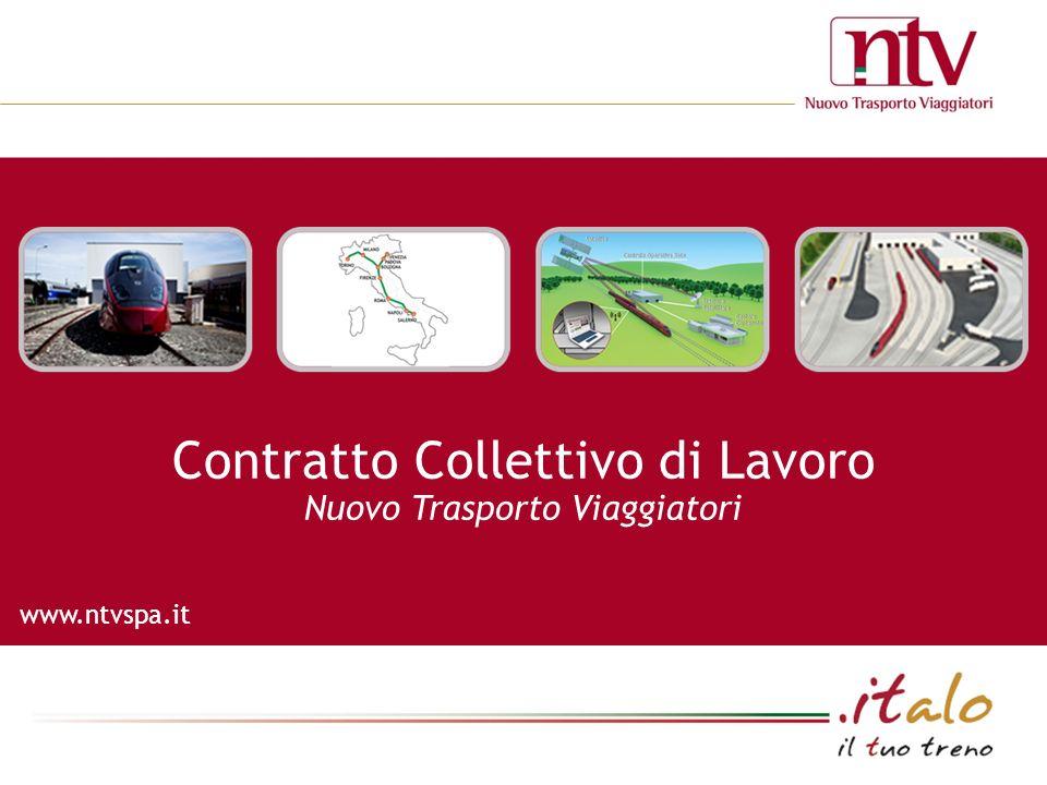 www.ntvspa.it Contratto Collettivo di Lavoro Nuovo Trasporto Viaggiatori